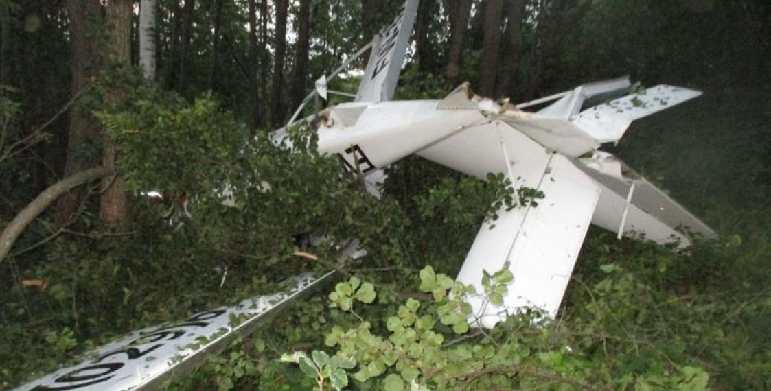 В Браславском районе разбился гидросамолет, погиб пассажир