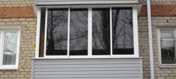Отделка балкона внутри и остекление по выгодным ценам