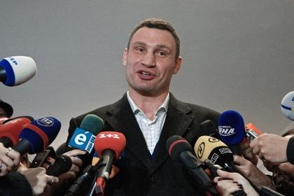 Кличко задумался обучастии впрезидентских выборах наУкраине