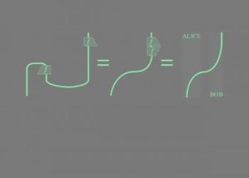 Физики провели обмен квантовой запутанности на расстоянии 100 километров