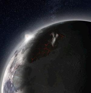 У Луны раньше существовала атмосфера, сообщают ученые НАСА