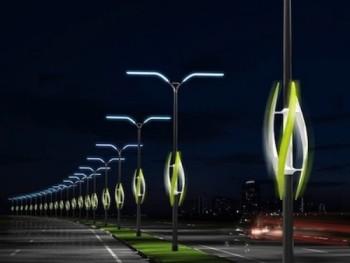 Новый вид уличных светильников