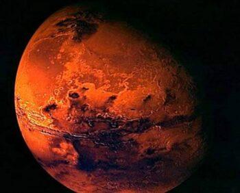 Океан магмы возник на Марсе от падения небесного тела.