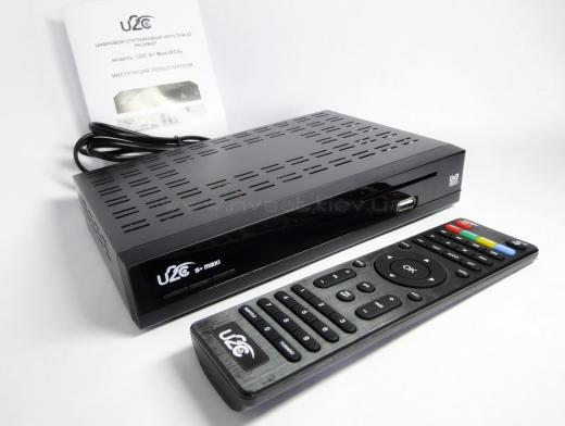 Спутниковый ресивер U2C Maxi S+: обзор и главные характеристики