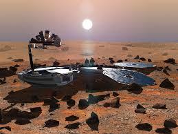 На Марсе обнаружен космический аппарат