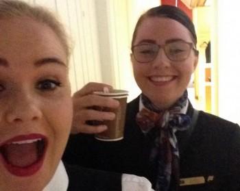 airline-selfi