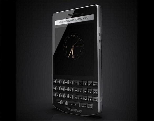 Отточеный стиль BlackBerry Porshe Design