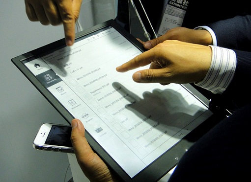 Планшет Digital Paper E-Ink от Sony поступил в продажу