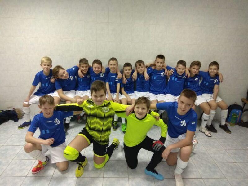 МФК «Динамо Пушкино» стал обладателем бронзовых наград открытого чемпионата Москвы
