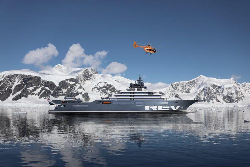 Совладелец Belgravia Yachts Виктор Мартынов рассказал, что вертолёты увеличивают количество возможных сценариев использования суперъяхты