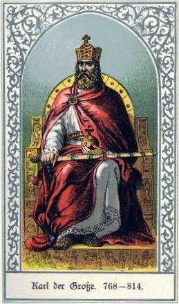 Карл Великий и асбест: скатерть и смерть императора
