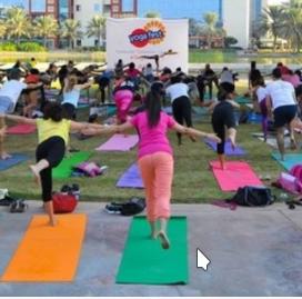 Йога в Дубае