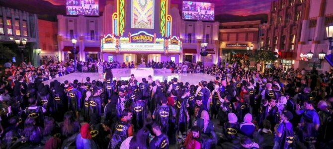Warner Bros. World™ Abu Dhabi завоевал титул «Крупнейшее скопление людей в плащах»