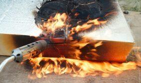 Маркировка «негорючий» — пожарные рассказывают о теплоизоляции в доме
