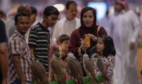 Выставка Saudi Falcons and Hunting Exhibition демонстрирует огромный успех