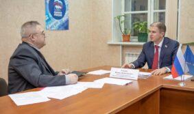 Встреча Михаила Романова с жителями Санкт-Петербурга состоялась в рамках Всероссийской недели приема граждан