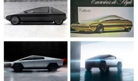 У Tesla Cybertruck 2019 усматривается сходство с Citroën Karin 1980 года