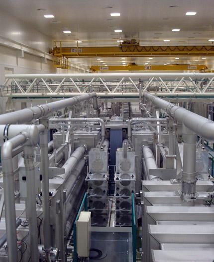 оптикомеханические системы alsymex в узком производственном помещении