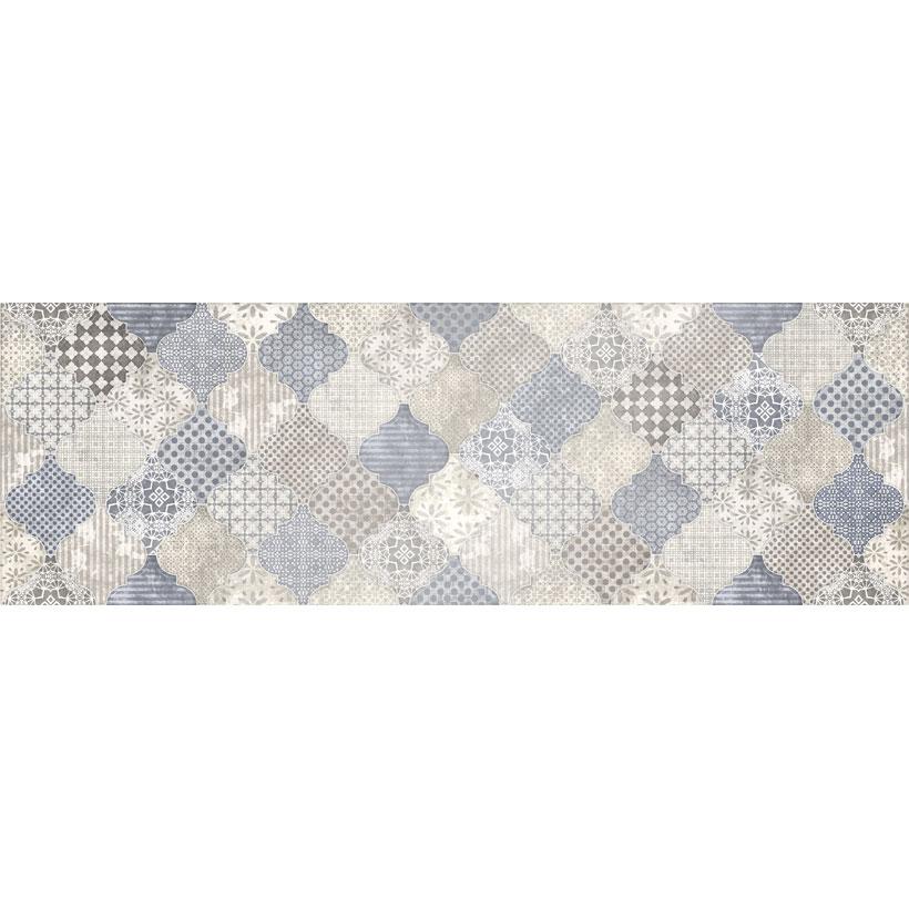 Керамическая плитка Cersanit Majolica декор А голубой MA2S041 20x60