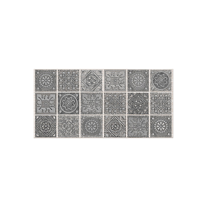 Декор AZORI Grazia Grey Nefertiti 20,1х40,5