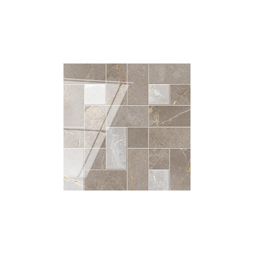 Мозаика ATLAS CONCORDE Allure Grey Beauty Suite 29x29 Глянцевая