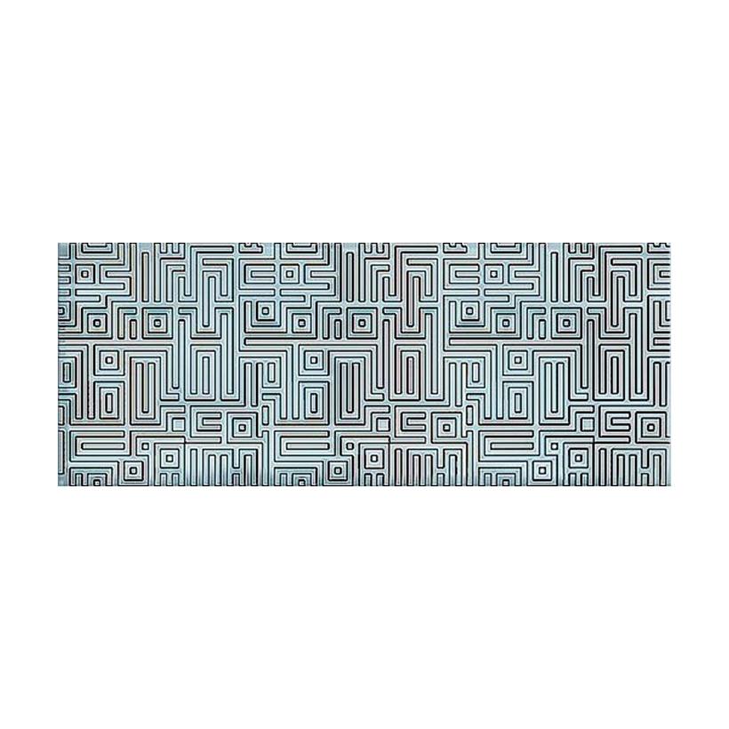 Декор AZORI Nuvola Aqua Labirint 20,1х50,5