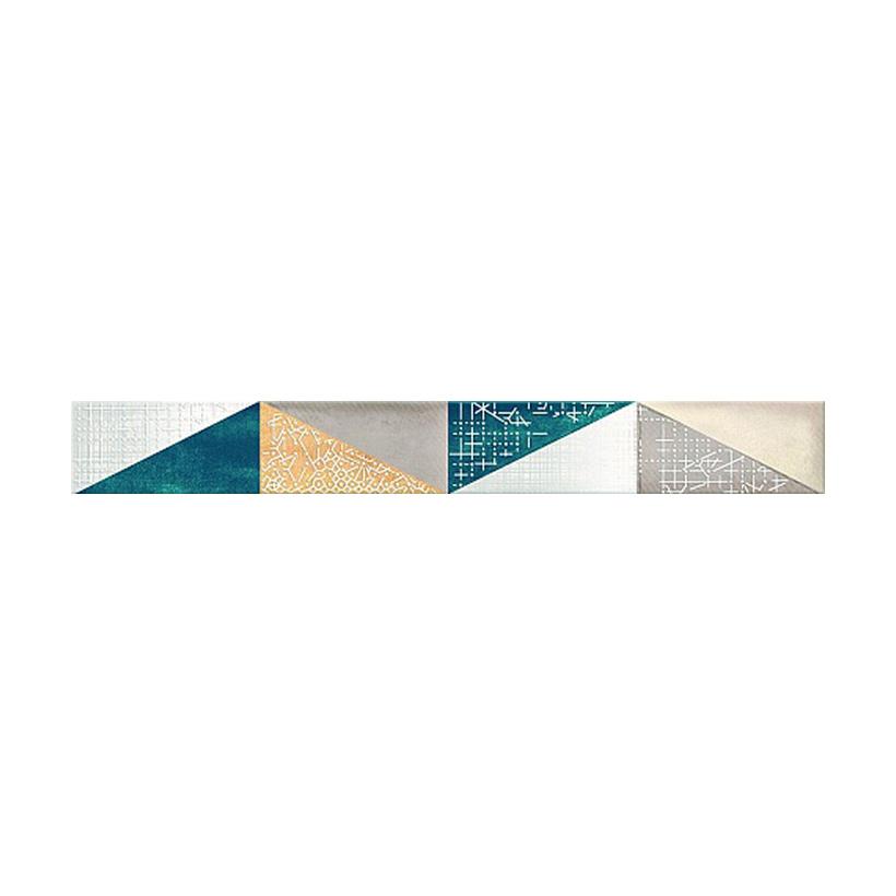 Бордюр AZORI Eclipse Indigo Mix 50,5х6,2