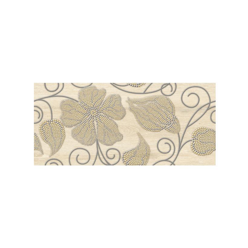 Керамическая плитка CERSANIT Illusion Декор цветы IL2G451 20x44