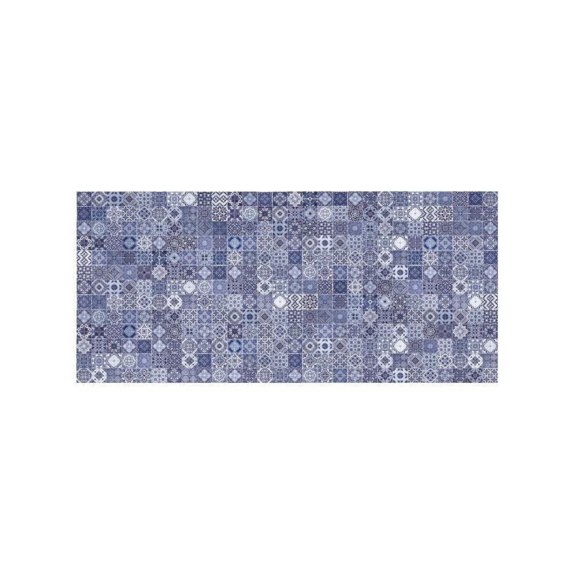 Керамическая плитка Cersanit Hammam рельеф голубой HAG041 20x44