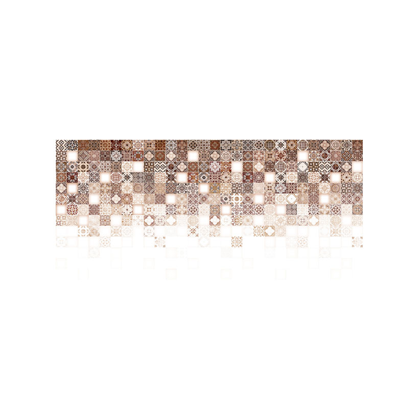 Керамическая плитка Cersanit Hammam рельеф бежевый HAG011 20x44