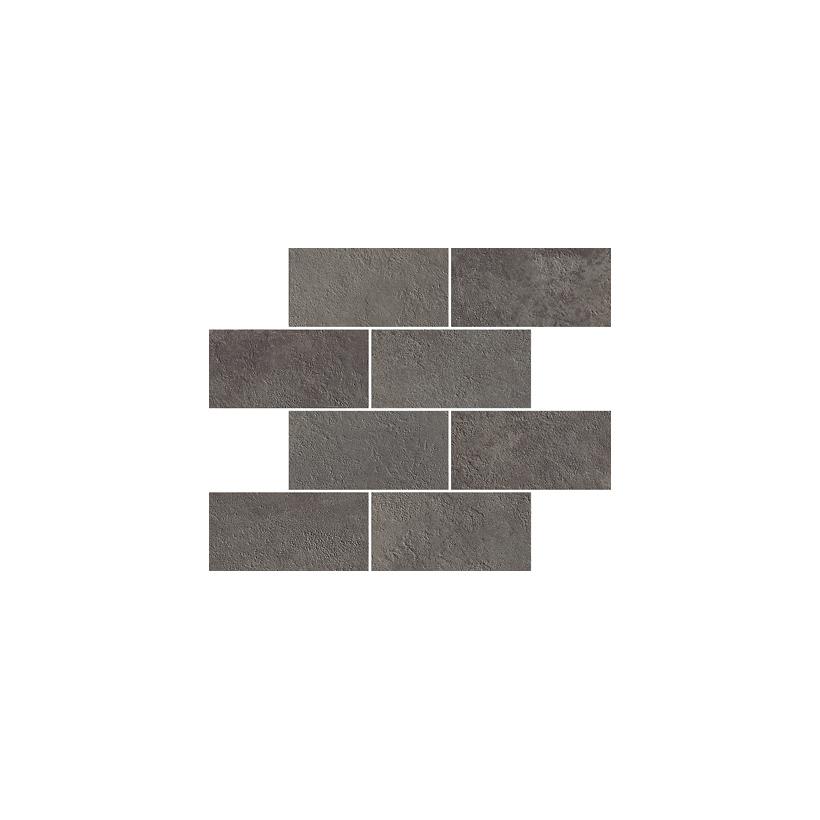 Мозаика ITALON МИЛЛЕНИУМ БЛЭК МИНИБРИК 23.7x29.5 Матовая