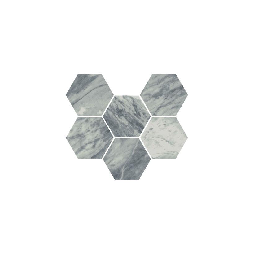 ITALON Шарм Экстра Атлантик Мозаика Гексагон 25x29
