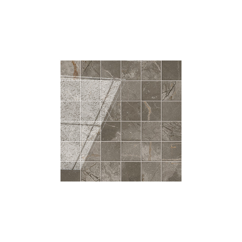Керамогранит ATLAS CONCORDE Allure Grey Beauty Mosaic 30x30 Полуматовая