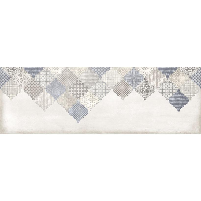 Керамическая плитка Cersanit Majolica декор В голубой MA2S042 20x60
