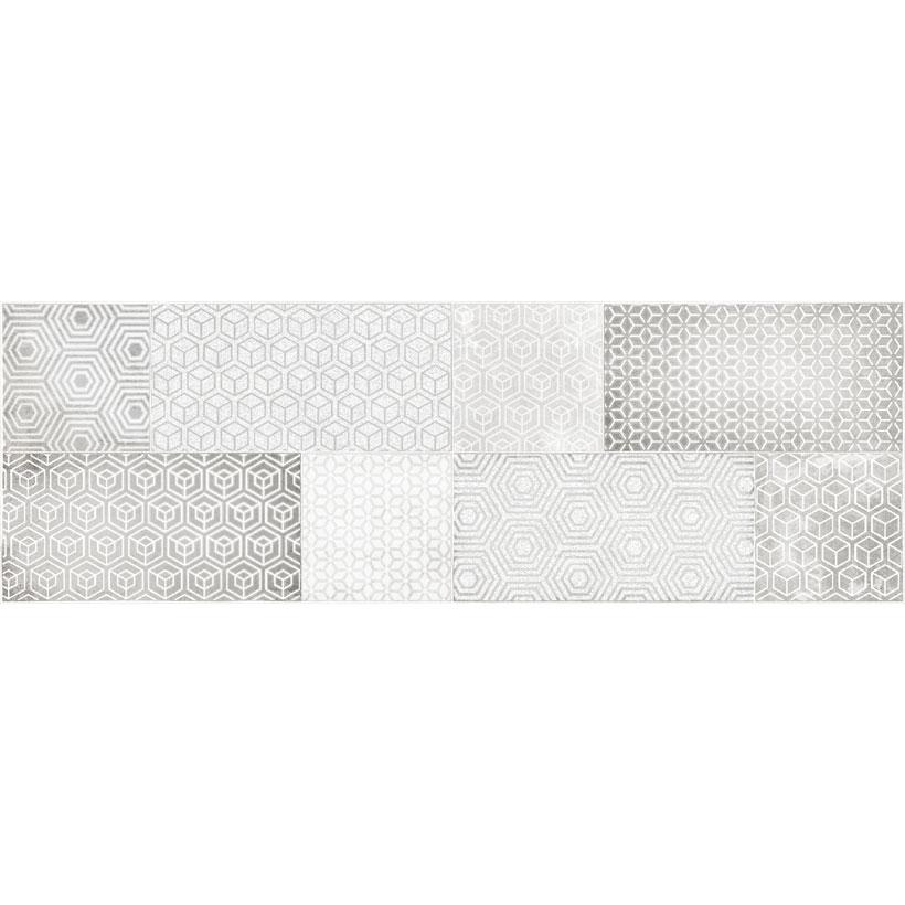 Керамическая плитка Cersanit Atlasсерый декор AT2S091 20x60