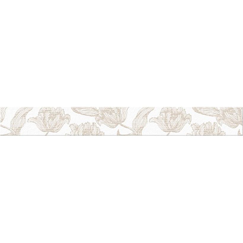 Бордюр AZORI Mallorca Beige Floris 63х7,5