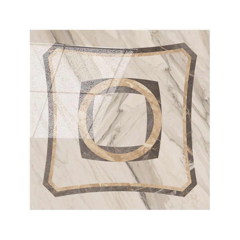 COLISEUMGRES Портофино Белый Вставка Интарсио 45x45