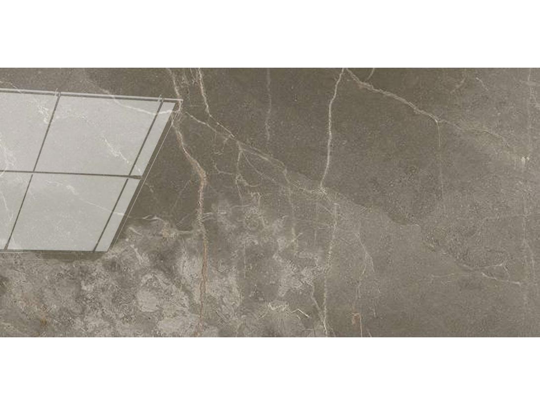 Керамическая плитка ATLAS CONCORDE Allure Grey Beauty 40x80 Глянцевая