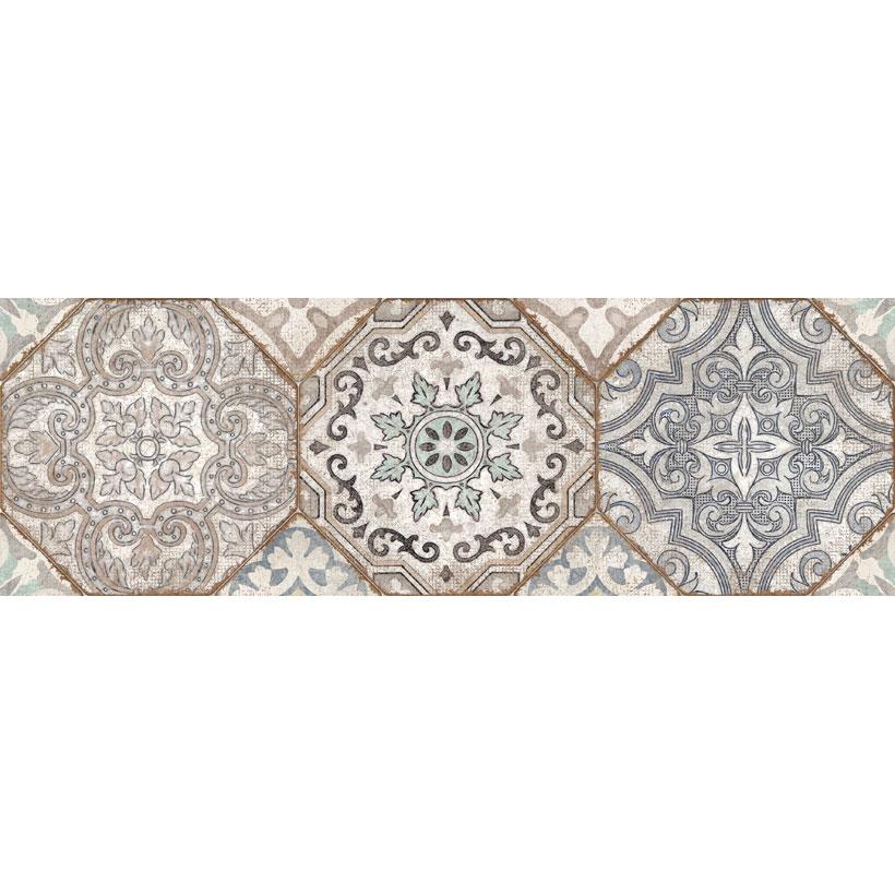 Керамическая плитка Cersanit Majolica многоцветный MA2S451 20x60