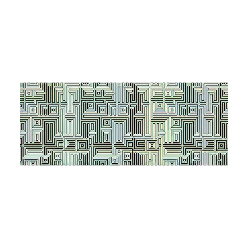 Декор AZORI Nuvola Verde Labirint 20,1х50,5