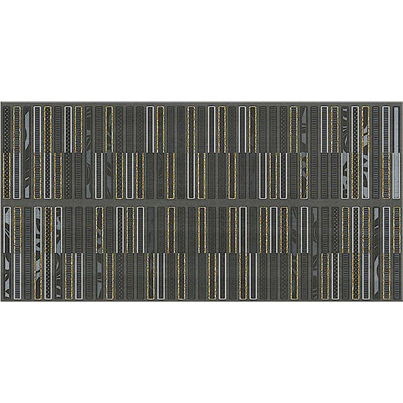 Декор AZORI Aura Grafite Geometria 31,5х63