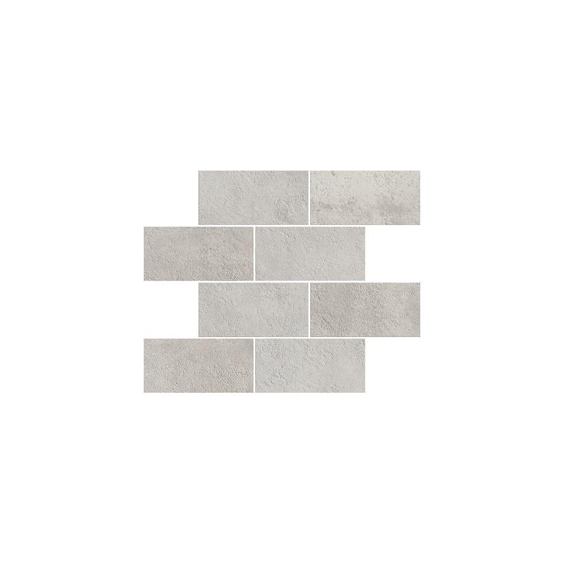 Мозаика ITALON МИЛЛЕНИУМ СИЛЬВЕР МИНИБРИК 23.7x29.5 Матовая