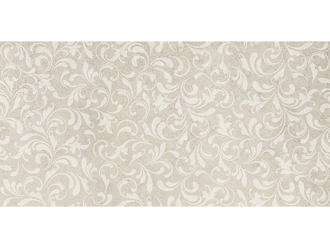 Керамическая плитка ATLAS CONCORDE Drift White Curl 40x80 Матовая