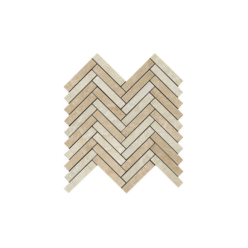 Atlas Concorde Force Light Herringbone Mosaic 29,8x29,3 Глянцевая