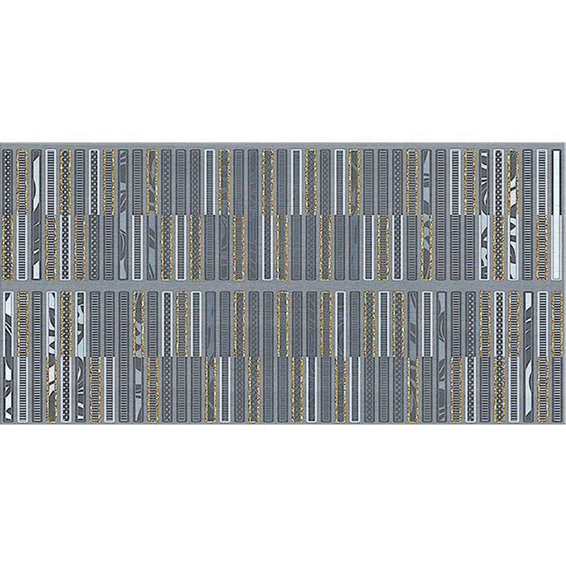 Декор AZORI Aura Atlantic Geometria 31,5х63