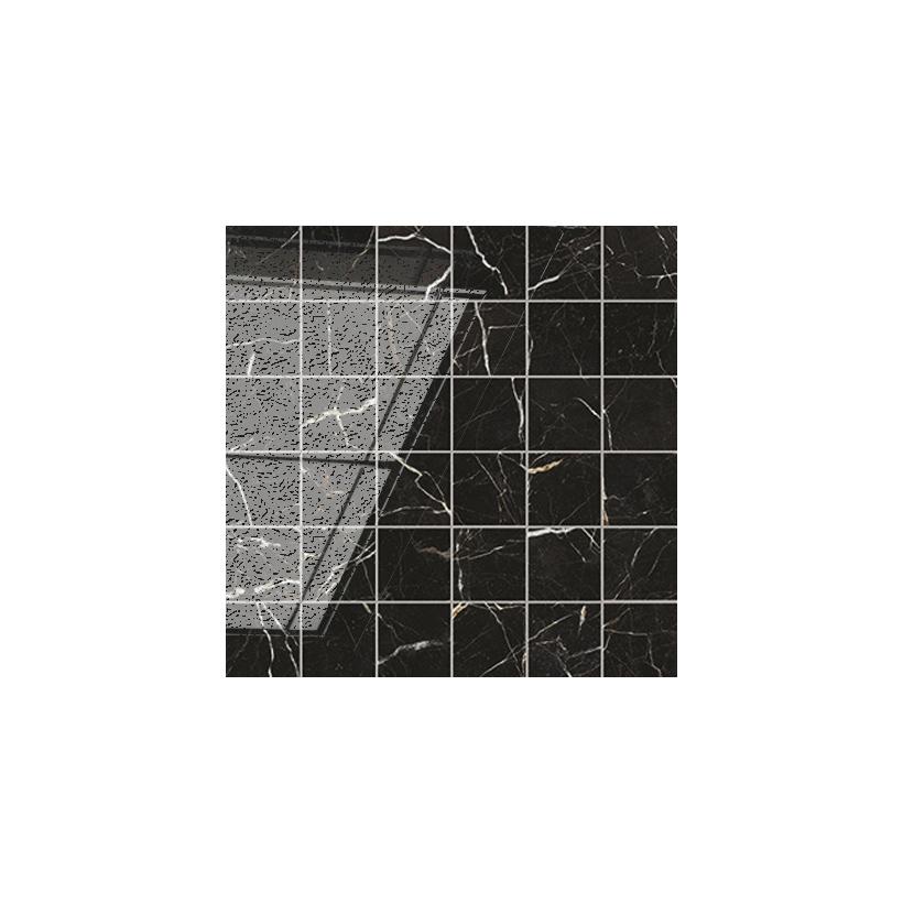 Керамогранит ATLAS CONCORDE Allure Imperial Black Mosaic 30x30 Полуматовая
