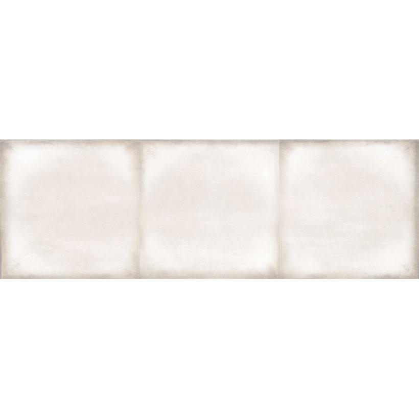 Керамическая плитка Cersanit Majolica рельеф квадраты светло-бежевый MAS302 20x60