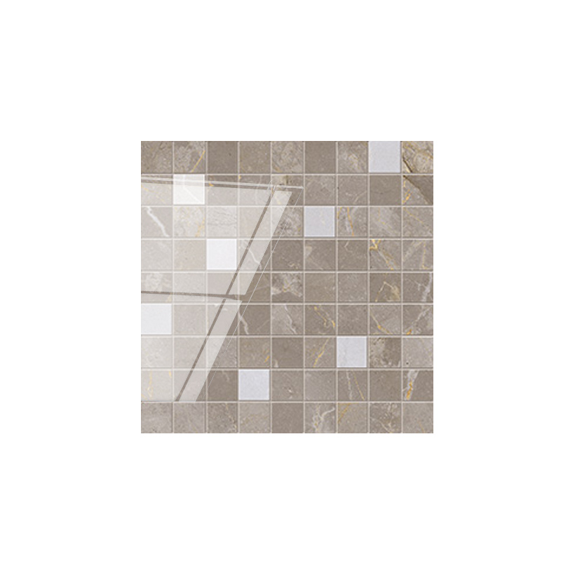Мозаика ATLAS CONCORDE Allure Grey Beauty Mosaic 31,5x31,5 Глянцевая