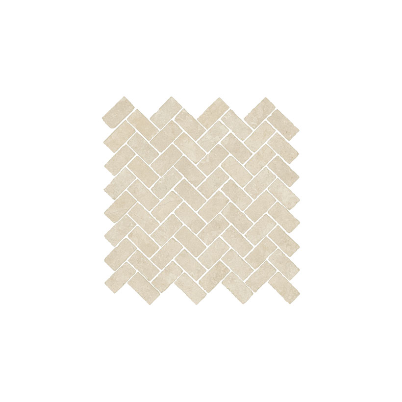 ITALON Дженезис Уайт Мозаика Кросс 31,5x29,7