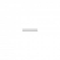 BLD004 Бордюр Багет Авеллино белый